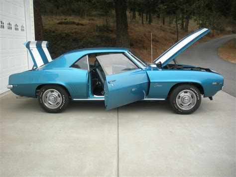 Interior Paint Colors To Sell Your Home 1969 Camaro Z 28 Jerry Macneish Certified Classic