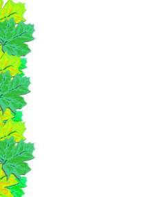 margenes de hojas decoradas apexwallpapers com margenes de hojas decoradas con el nombre imagui