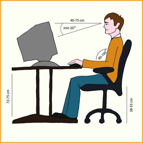 Posture At Desk by Posture At Work Health Osteopath Clinic