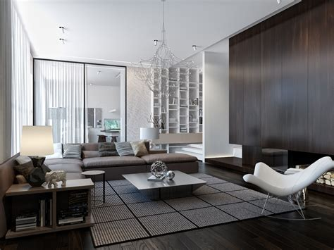 modern living rooms modern house interiors with dynamic texture and pattern