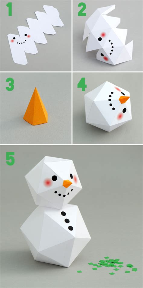 printable paper snowman geometric snowman snowman printable templates and free
