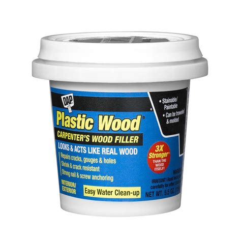 dap plastic wood 5 5 oz carpenter s wood