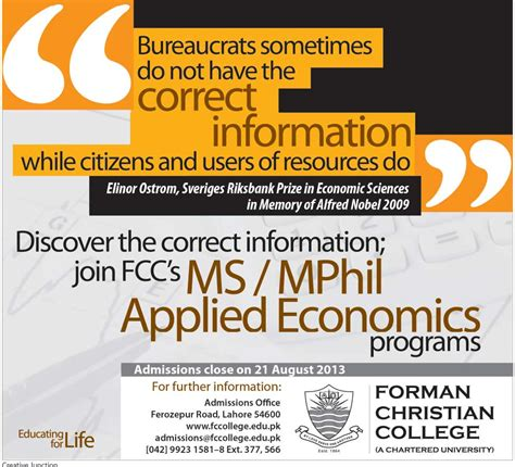 Mphil In Economics After Mba by Admission Open Education