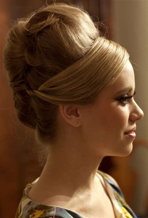 60s updo big hair sleeve updo and search