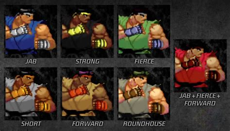 gief s a guide to fighter v third edition books color guide for dlc pack 2 fighter 3 third