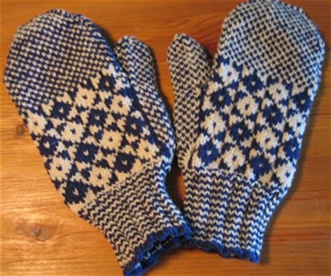 knitting pattern newfoundland mittens hedgehog knits mitts and books