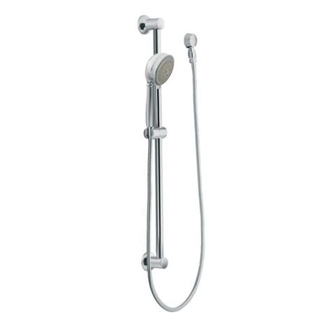 Moen Shower Bar by Moen 3867 Four Function Shower With 30 Slide Bar And
