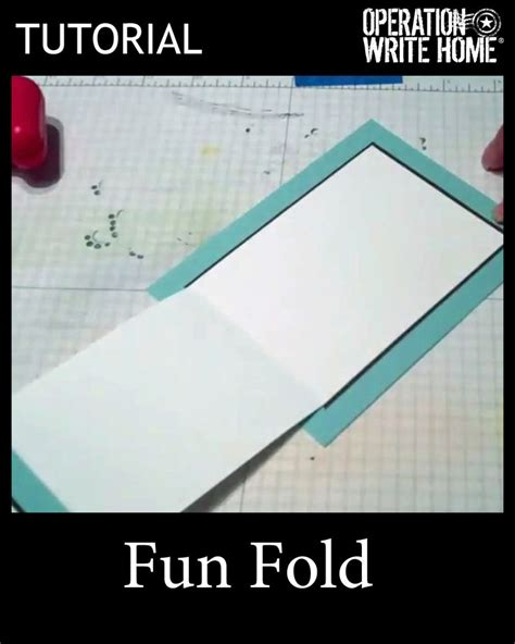 tutorial carding card fun fold for cards tutorial with video card how to s