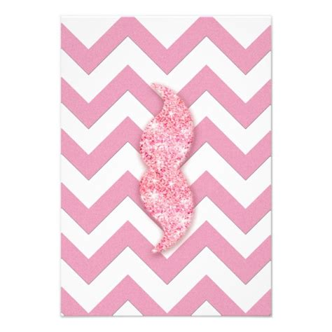 pink pattern girly funny glitter mustache girly pink chevron pattern