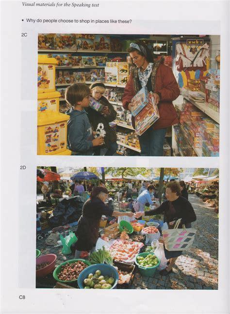 fce speaking test images photos et questions pour la partie 2 du speaking