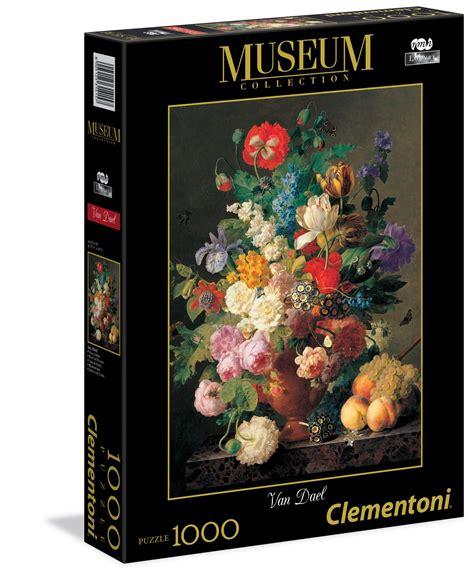 puzzle fiori dael quot vaso di fiori quot 1000 pcs museum collection