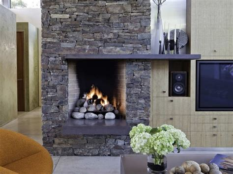 home decor places stone fireplace designs from classic to contemporary