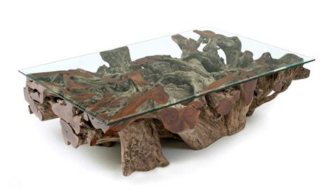 Handcrafted Root - handcrafted tree root coffee table so that s cool