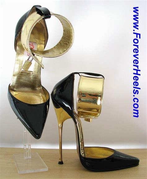 high heel stores foreverheels style a pumps vwl 5cm ankle straps black pu