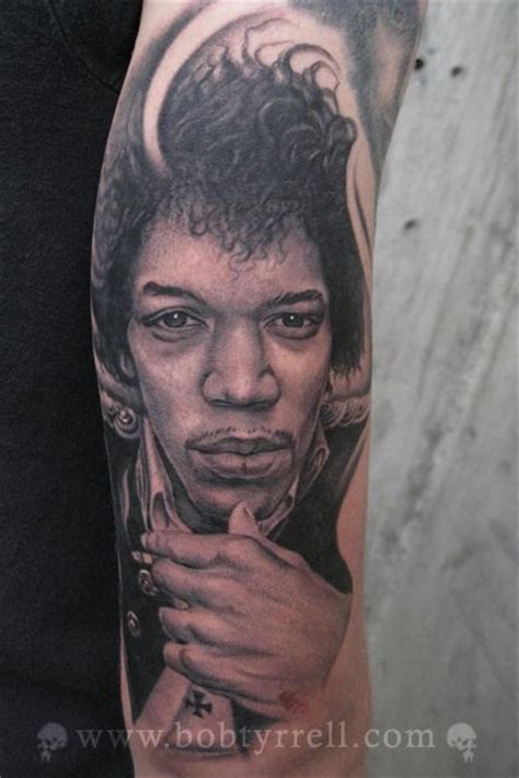 jimi hendrix tattoo the boy who sold time 纹身师 tattooist bob tyrrell