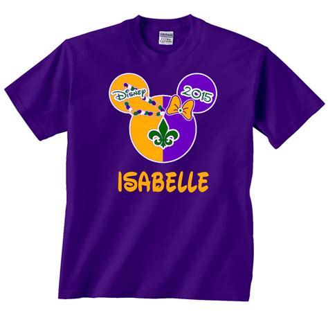 T Shirt Größentabelle by Disney Mardi Gras Family Vacation T Shirts The Official