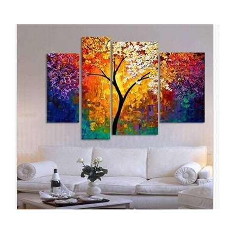 livingroom paintings handpainted painting palette knife paintings for
