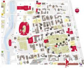 Ohio State Campus Map by Walking Tour Ohio State University Official Visitor S Guide