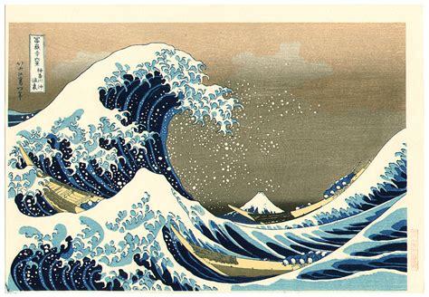 biography of hokusai japanese artist katsushika hokusai big wave fugaku sanju rokkei
