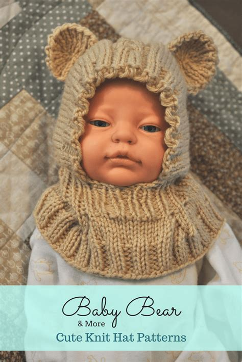 knitting pattern youth hat knit bear hat dinosaur hat more knit hat patterns for