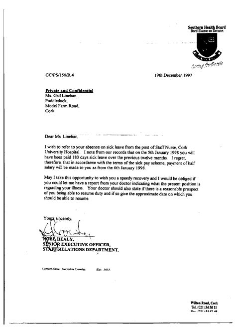 School Application Letter For Sick Leave Sle Sick Leave Application Pdf Cover Letter Templates