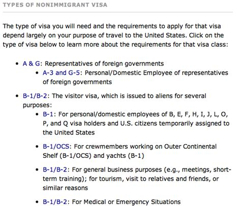 Supporting Documents For B1 Visa