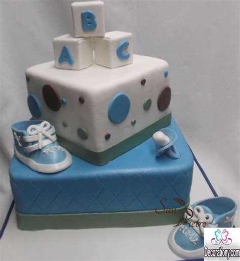 Interesting Baby Facts For Baby Shower by 13 Easy Cake Decorating Ideas For Baby Shower Decor Or