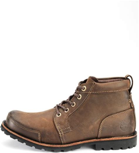 timberland mens chukka boots in brown for brown oiled