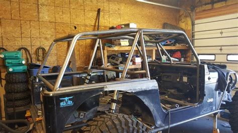 jeep tube chassis project quot bdr quot 98 tj ls1 full tube chassis fabricated 9s