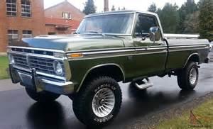 1975 ford highboy f 250 ranger 4x4 390 auto a c locking