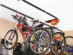 garage bike rack home design by