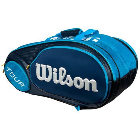 wilson mini tour 6 pack junior bag blue wilson tennis bags