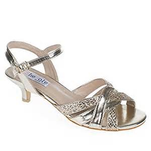 shesole s metallic low heels comfortable