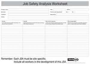 jsa form template safety analysis templates 4 free forms for word and pdf