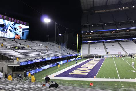 section 132 f husky stadium section 132 rateyourseats com