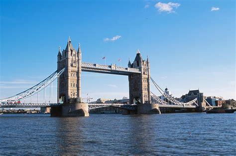 thames river america tower bridge on the thames river london england