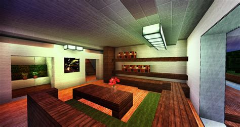 minecraft modern house interior design modern house interior design minecraft home deco plans