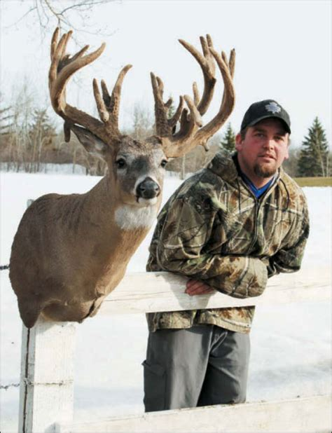 Manitoba Records Free Big Buck Magazine Deer Articles