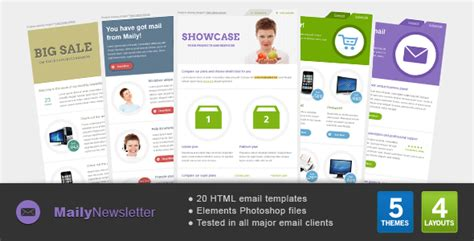yahoo ecommerce templates maily newsletter needmytheme