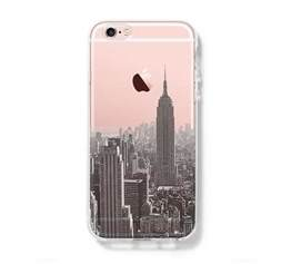 New York City iPhone 6s 6 Clear Case iPhone 6 plus Cover