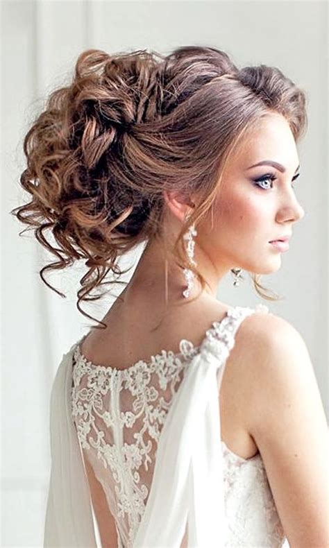 Curly Wedding Hairstyles With Bangs by 1000 Ideas About Wedding Headband Hairstyles On
