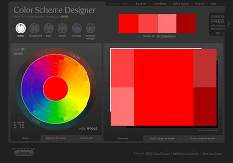 color scheme maker 20 color scheme generators for web and graphic designers