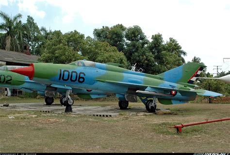 air b b cuba mikoyan gurevich mig 21pf cuba air force aviation