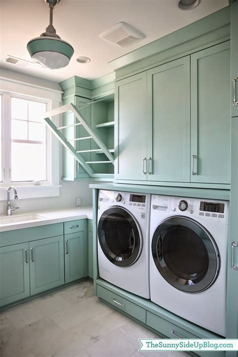 side up laundry room house of turquoise