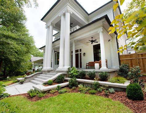 Home Exterior Design Atlanta Atlanta Ga New Neoclassical Home Traditional
