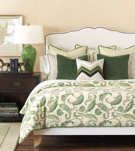 how to dress a bed with pillows emerald green black dog design blog