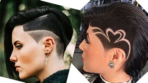 extreme buzz cut for women hair tattoo undercut pixie