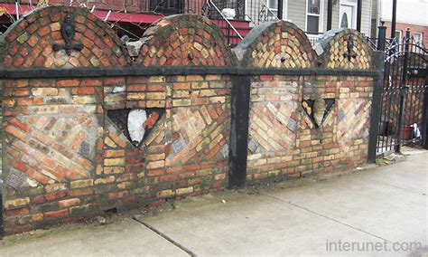 Home Imrpovement old stylish brick fence picture interunet