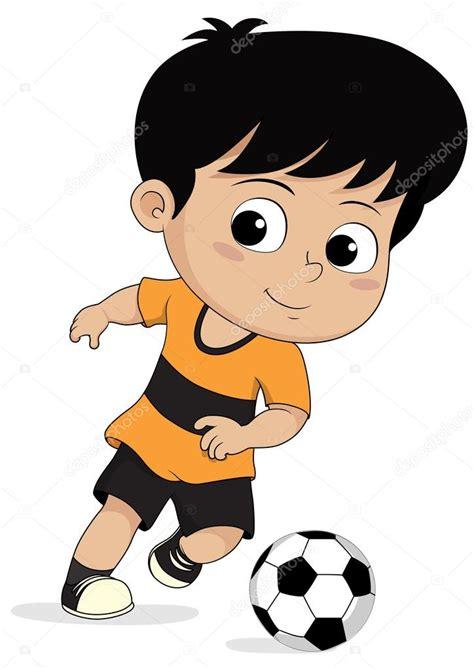 imagenes de niños jugando fut bol crian 231 as de futebol dos desenhos animados vetores de