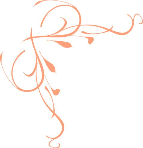 peach pattern png peach flower clipart border pencil and in color peach